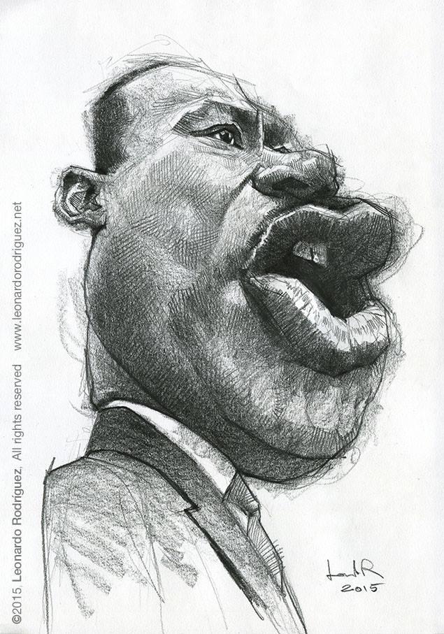Martin Luther King por Leonardo Rodríguez