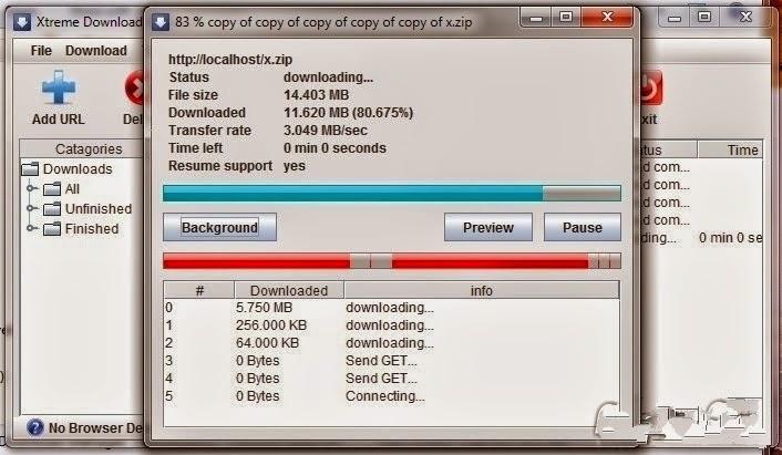 برنامج Xtreme Download Manager