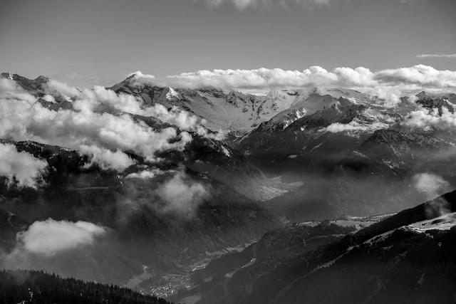 Aussicht Steinach am Brenner Blaser Foto
