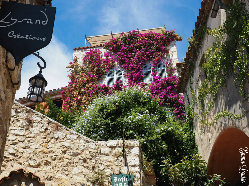 Eze Village buildings