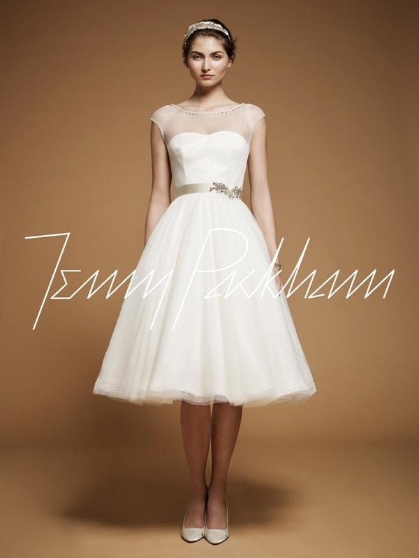 f8f2f016f5fa Pazza Idea  Gli abiti da sposa vintage di Jenny Packham