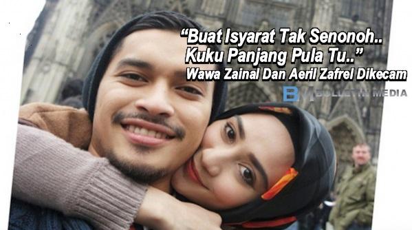 """Buat Isyarat Tak Senonoh..Kuku Panjang Pula Tu..."" - Wawa Zainal Dan Aeril Zafrel Dikecam"