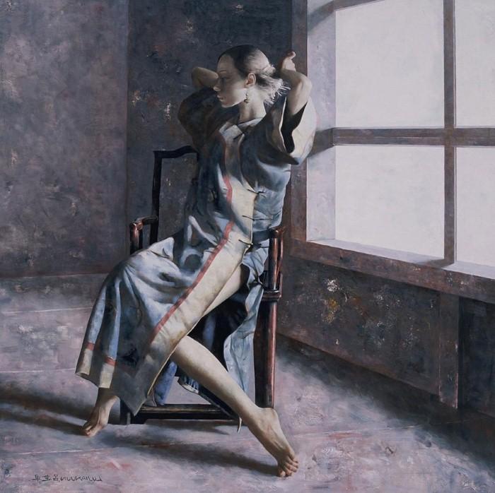 Академическая живопись. Lu JianJun 19