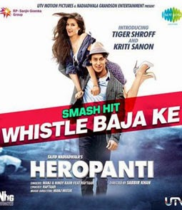 WHISTLE BAJA SONG LYRICS - HEROPANTI