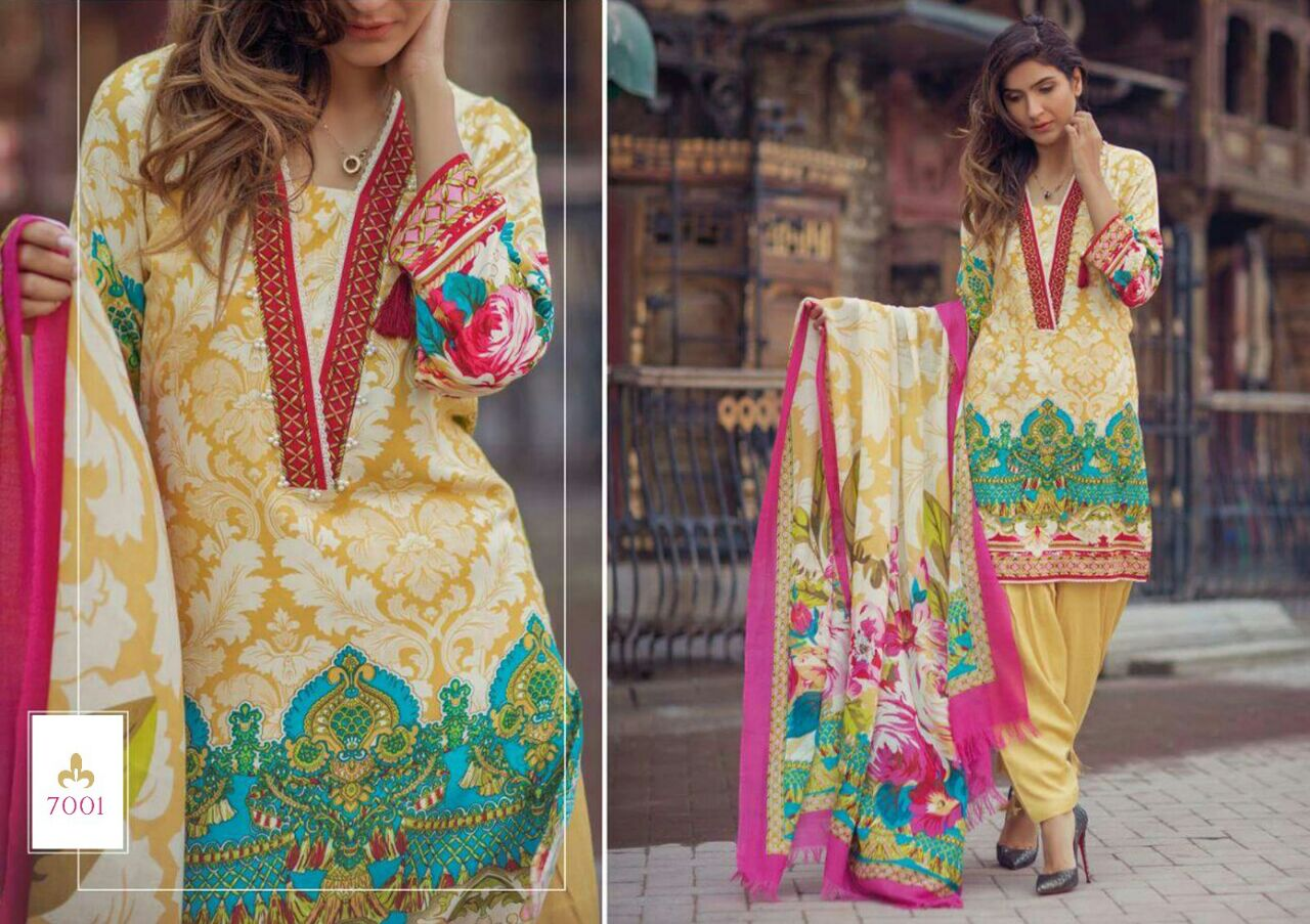 Vintage Vol 7 – Latest New Collection Cotton Satin Dress Material