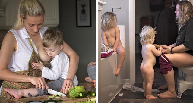 Яркие фотографии, раскрывающие всю правду о том, каково это - быть мамой на самом деле