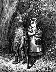 230px Dore ridinghood - A verdadeira história por trás dos contos infantis