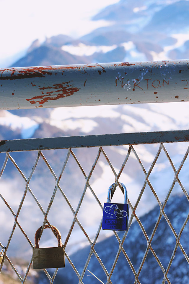 Untersberg love locks