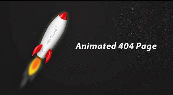 Creating an Animated 404 Page