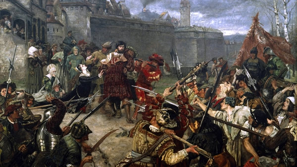 Conflict between peasant and prince