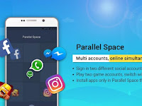 Review  Parallel Space Aplikasi Android Terbaru 2018