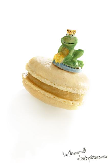 Macarons des rois - à la frangipane