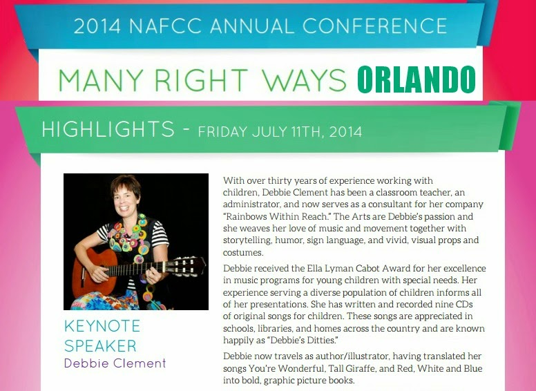 "NAFCC: National Conference, Orlando ""Many Right Ways"" Debbie Clement Keynote"