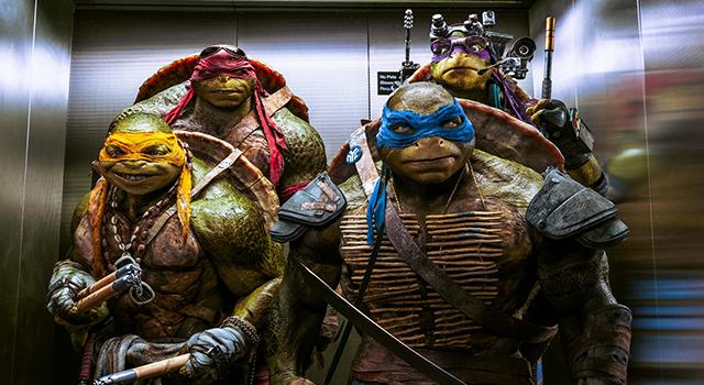 Las tortugas ninjas 2 Desde las Sombras