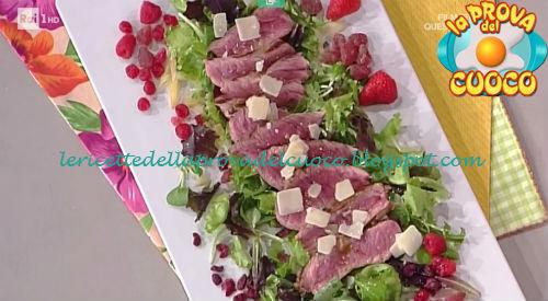 Tris di tagliate con verdure ricetta Nonis da Prova del Cuoco