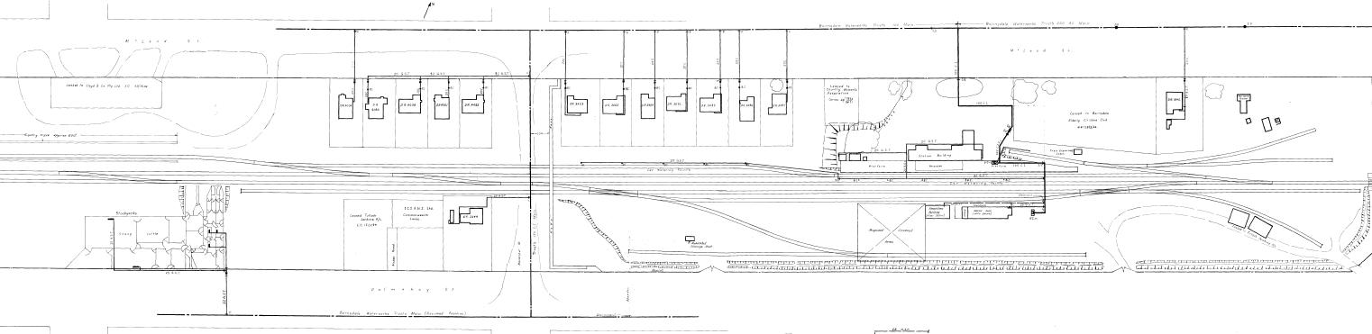 Bairnsdale in N scale: Plans