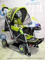 Pliko PK298 Ranger Rocker Baby Stroller - Green