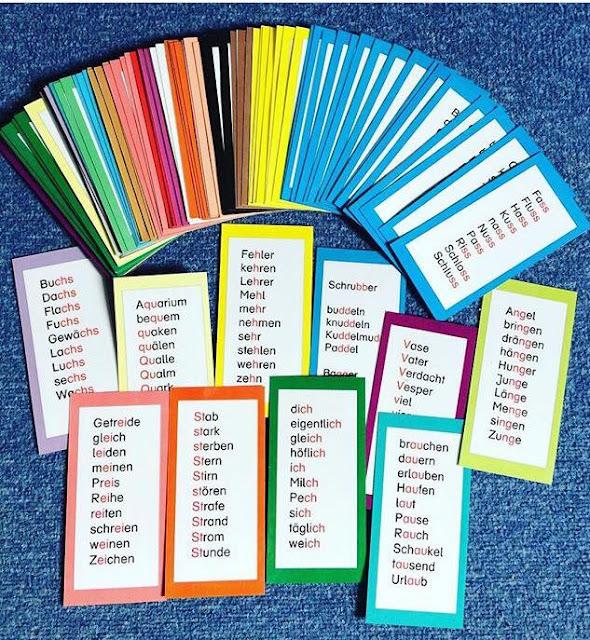 14. Türchen: Lernwörter einführen und üben