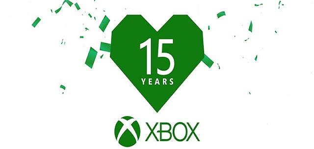 Xbox celebra los 15 años de su sistema con un vídeo conmemorativo