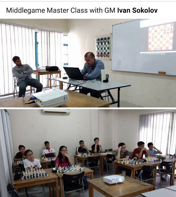 Many of the Very Best Malaysian Talent at GM Sokolov's Middlegame Master Class