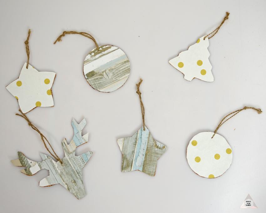 diy decoración arbol Navidad decoconsailo.com