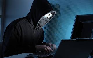 Hacker-hacking-password
