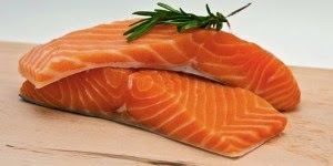 Sumber kalsium ikan salmon