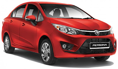 new 2016 Proton Persona Fire Red image
