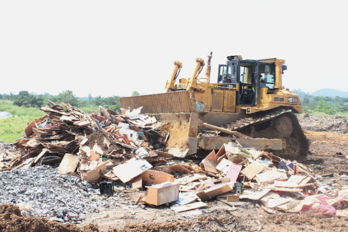 300 Seized jackpot machines destroyed in Accra