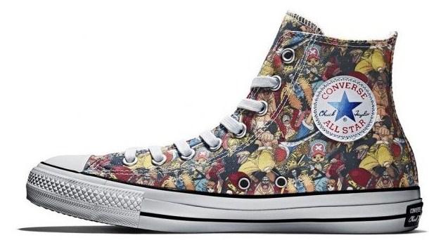 Sepatu Converse Edisi One Piece