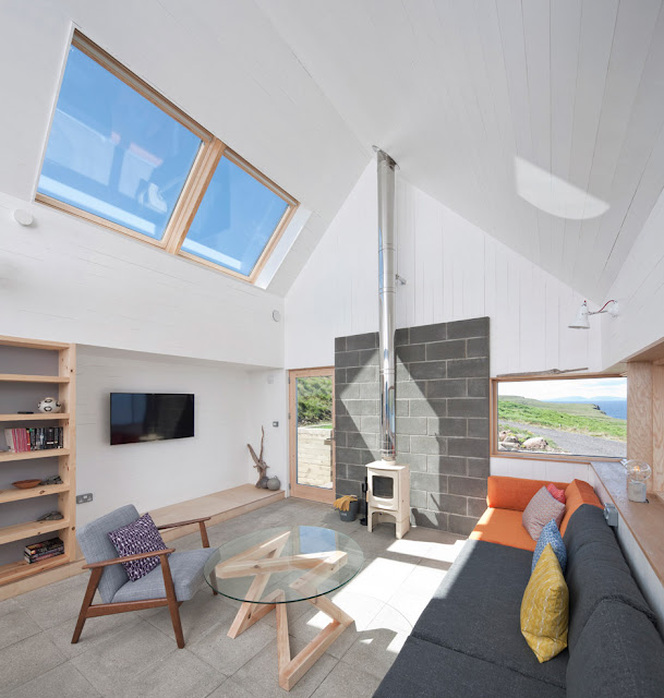 The Tinhouse Is A Holiday Home On The Scottish Island 9