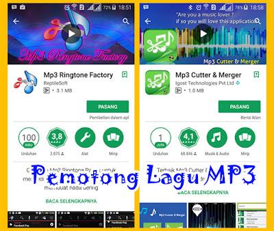 Aplikasi Pemotong Lagu MP3 Untuk Android