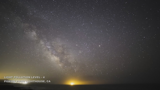 Where Are the Stars? See How Light Pollution Affects Night Skies