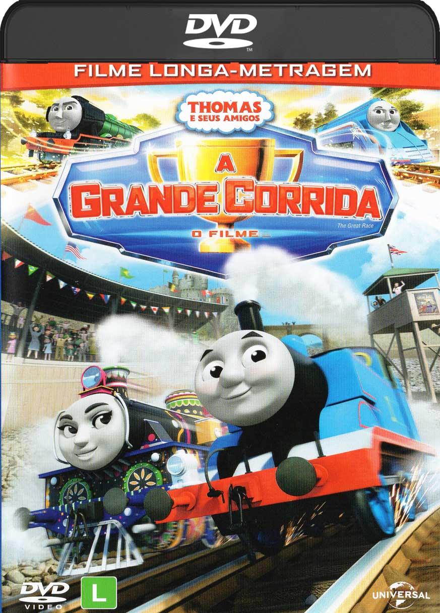 Thomas e Seus Amigos – A Grande Corrida (2016) DVD-R Oficial