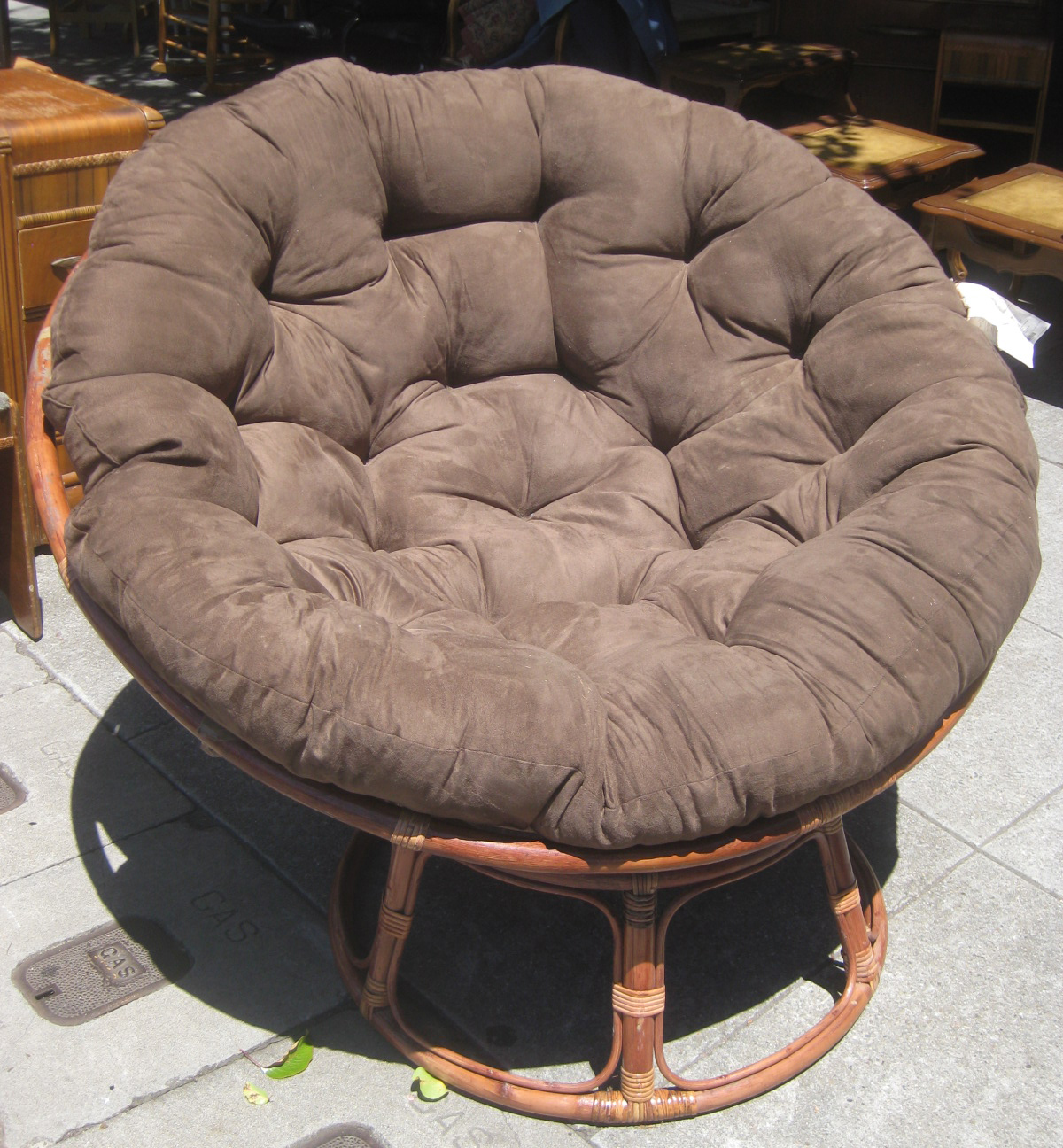 Papasan Chairs For Big People Beauty Within Clinic