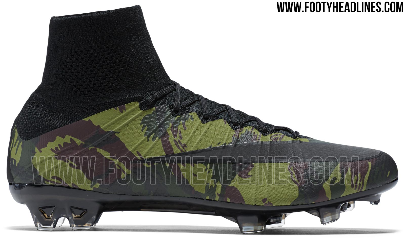 c15afc9e361 Combining the popular silhouette of the cutting-edge Nike Mercurial  Superfly soccer cleats with a totally new camouflage print on the upper