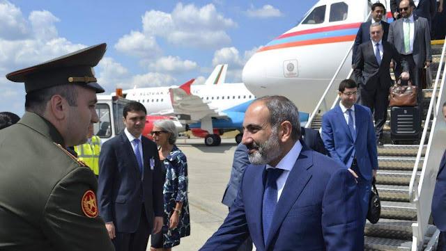 Pashinyan está en Bruselas para reunirse con Macon y Mogereri