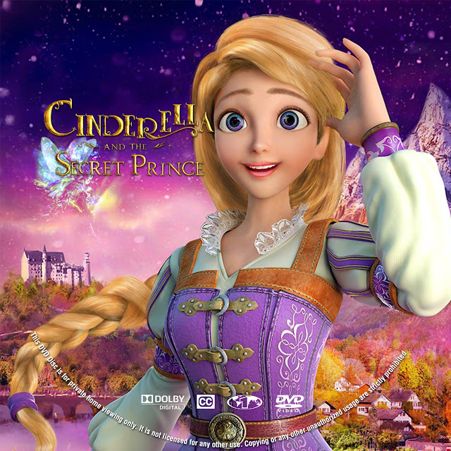 Cinderella And The Secret Prince Dvd Label Cover Addict