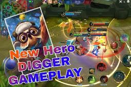 Hero Digger dan Build yang cocok di Mobile Legends