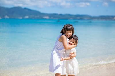 沖縄 結婚10周年記念 家族写真