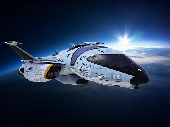 Royal Caribbean Launches Orbiter of the Galaxies spaceship