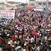 Tradicional festa do trabalhador em Riachão é palco de protestos contra as reformas