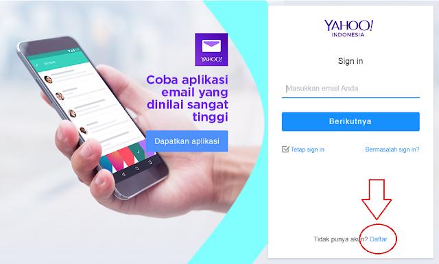 Cara Tepat dan Cepat Buat Email Yahoo Indonesia