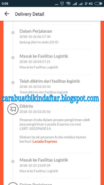Cara Cek No Resi Lazada Express Lex Id Tiki Jne Dll Terbaru Cbbdblog Net