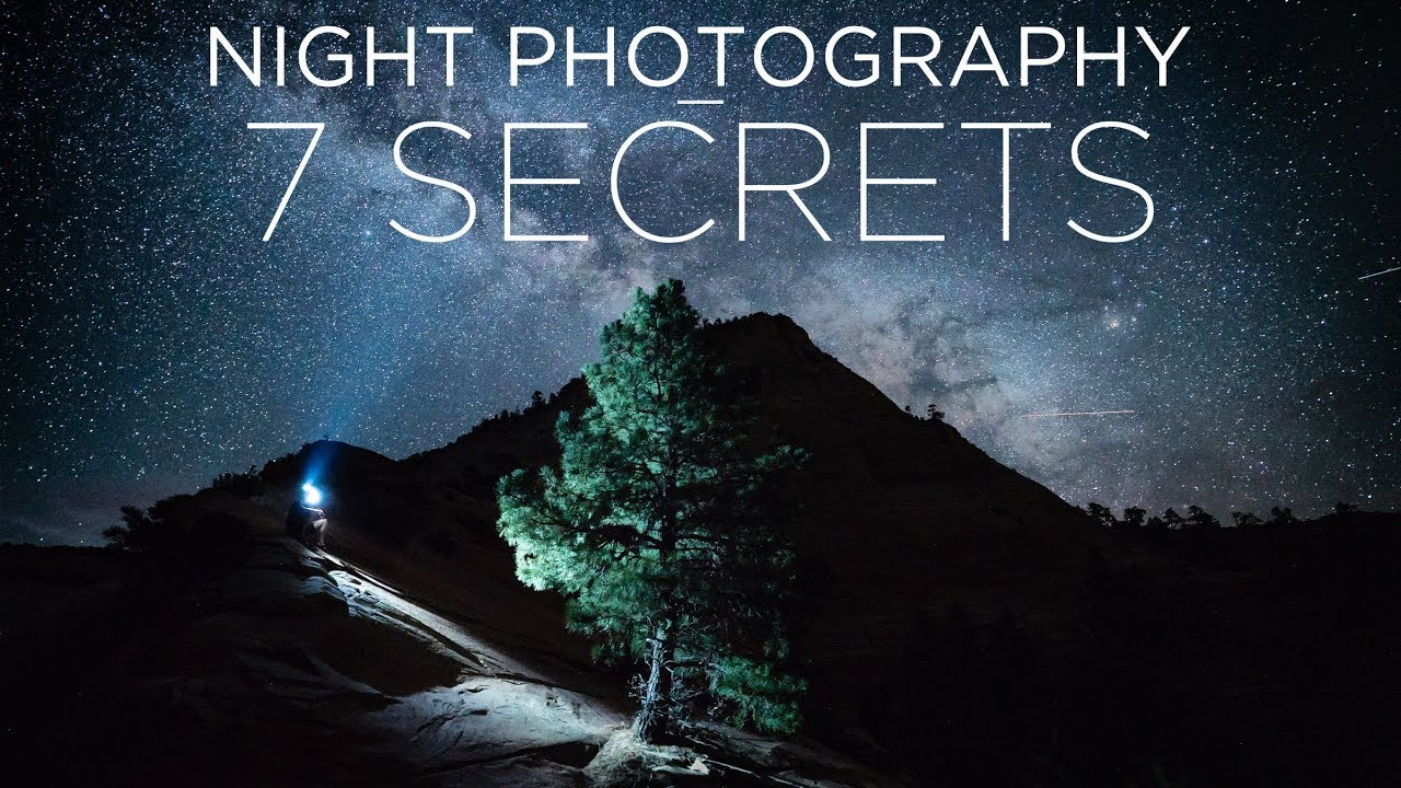 Crush night photography. 7 Secrets to take photos at night.Pierre t lambert