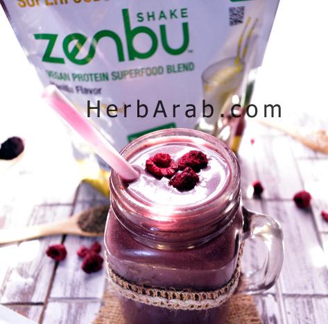 وصفة السموثي بروتين زينبو كاليفورنيا من اي هيرب