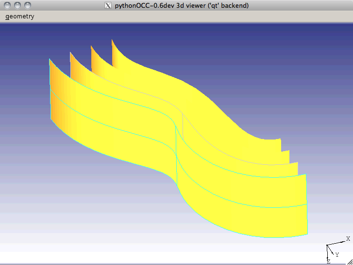 PythonOCC : Open Source interactive CAD shell (and how to run it on OSX)