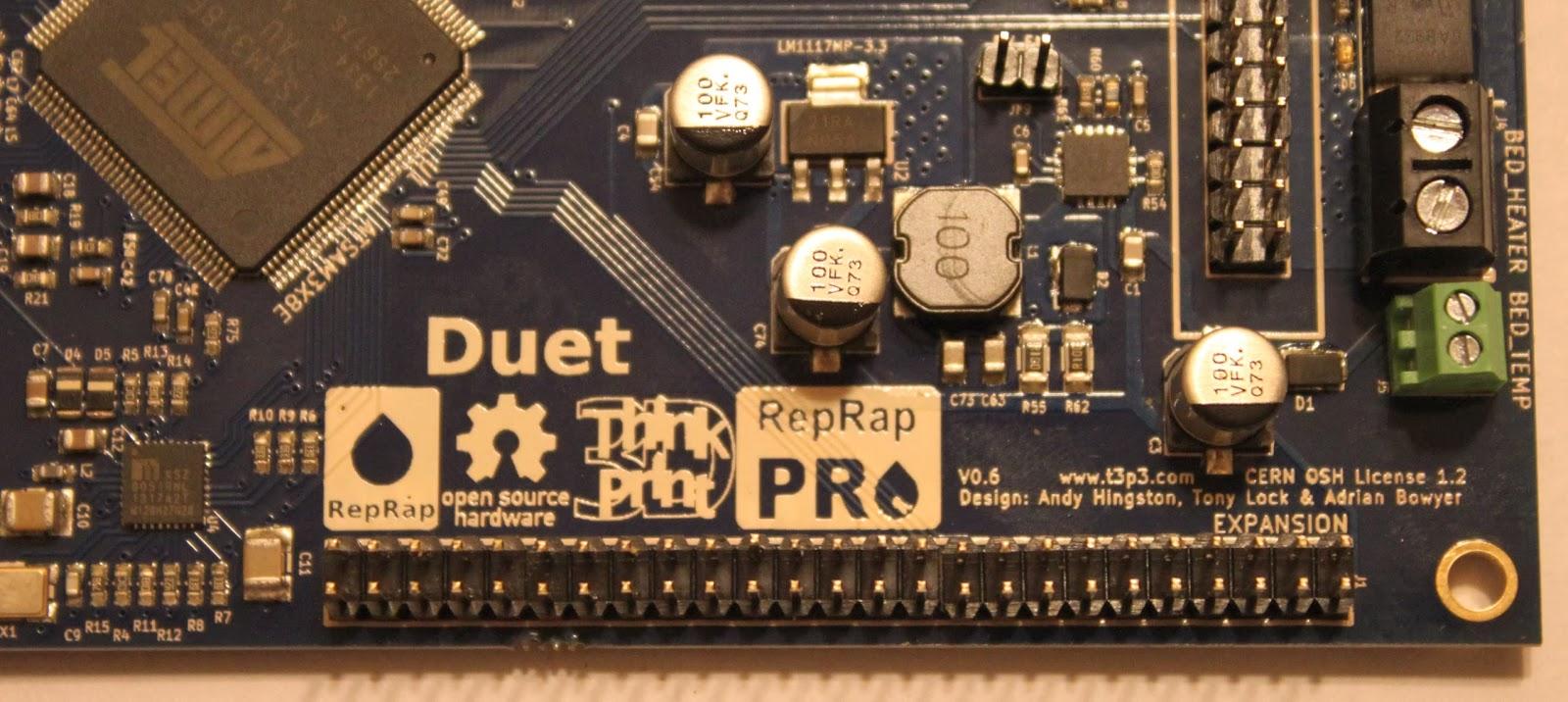 Duet ethernet firmware