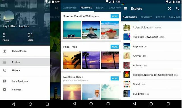 10 Aplikasi Wallpaper Android Gratis: 10 Aplikasi Download Wallpaper Gratis Dan Tanpa Crop Untuk