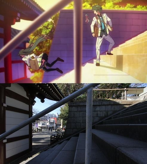 47 gambar Anime pemandangan orang jatuh
